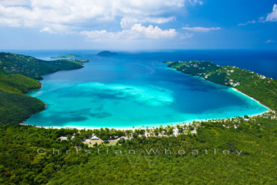 Poster Magens Bay, St. Thomas Virgin Islands