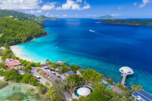 Coki Point St. Thomas Print