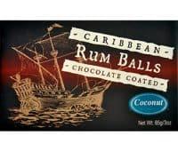 8 piece Rum Balls Coconut/Chocolate