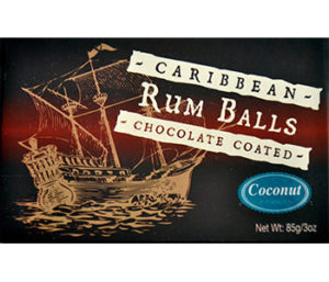 8 piece Rum Balls Coconut/Chocolate