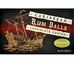 8 piece Rum Balls Original/Chocolate