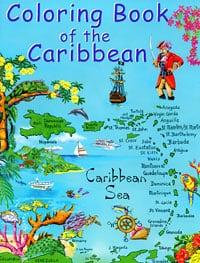 Caribbean Coloring Book