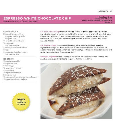 St. Croix Food & Wine Experience - Espresso White Chocolate Chip