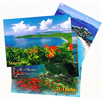 Set of 10 St. Thomas Postcards