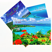 Set of 10 St. John Postcards