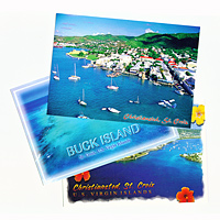 Set of 10 St. Croix Postcards