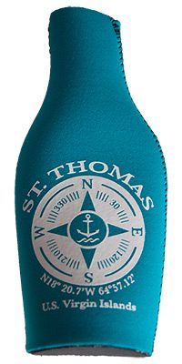 St. Thomas Compass Bottle Coozie