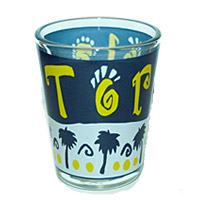 Tortola BVI Shot Glass