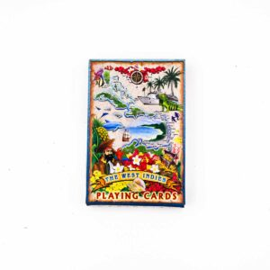 West Indies Caribbean Playing Cards