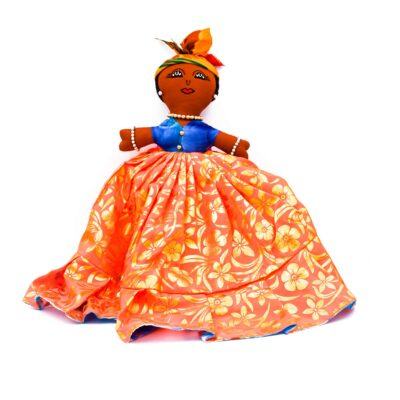 West Indian Reversible/Flip Doll