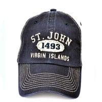 St. John 1493 Hat (Navy/Khaki)