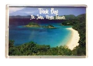 St. John, Trunk Bay Magnet