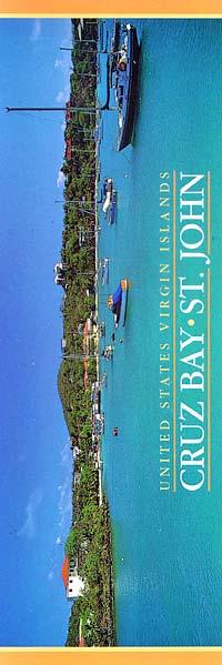 Cruz Bay Bookmark