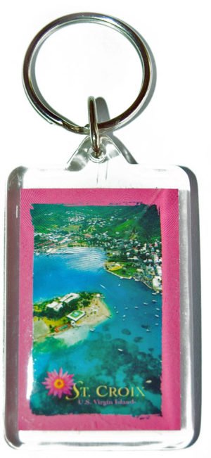 Christiansted, St. Croix Keychain