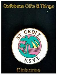 St. Croix Lapel Pin