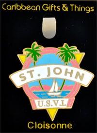 St. John Lapel Pin