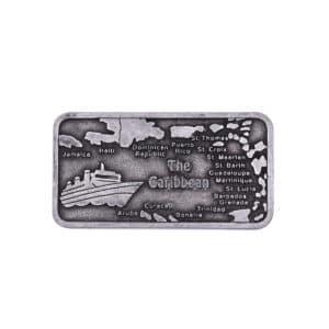 Caribbean Metal Magnet