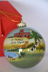 St. Thomas Christmas Ball Ornament
