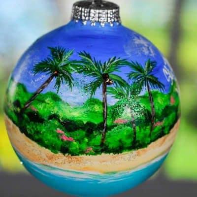 St. Croix Island Ornament
