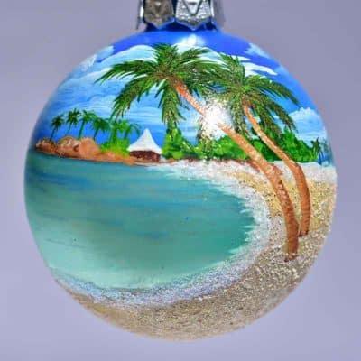 St. Thomas Palm Tree Ornament
