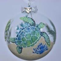 St. John Turtle Indigo Ornament