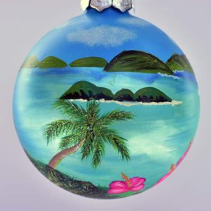St. John Trunk Bay Christmas Ornament