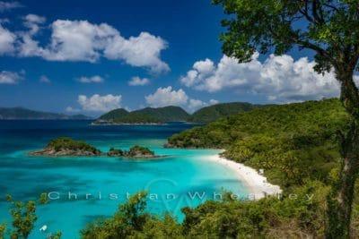 Poster Trunk Bay, St. John Virgin Islands