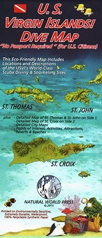 Guide Map of the USVI