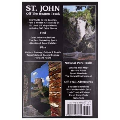 St. John Off the Beaten Track Back Cover