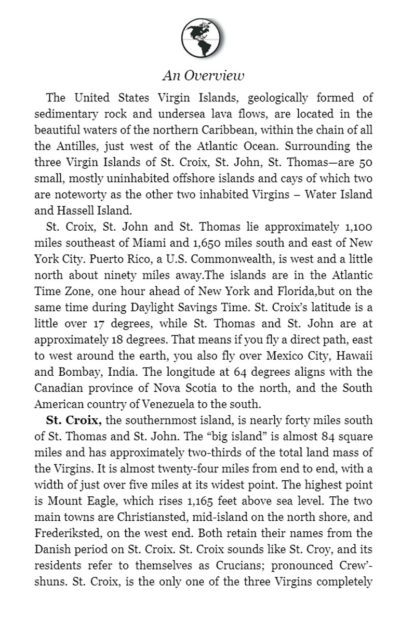 Virgin Islands Settlers Hand Book Page 6