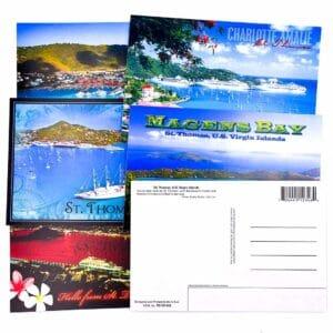 Set of 10 St. Thomas Postcards