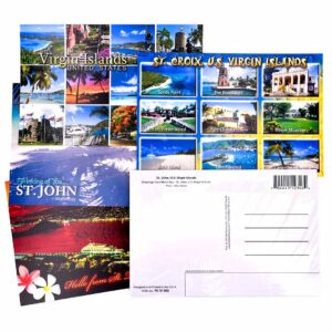 Set of 10 United States Virgin Islands (USVI) Postcards