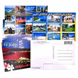 Set of 10 United States Virgin Islands (USVI) Postcards