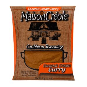 Maison Creole Coconut Cream Curry Seasoning