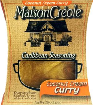 Coconut Cream Curry Seasoning