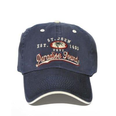 St. John Navy Paradise Found Hat
