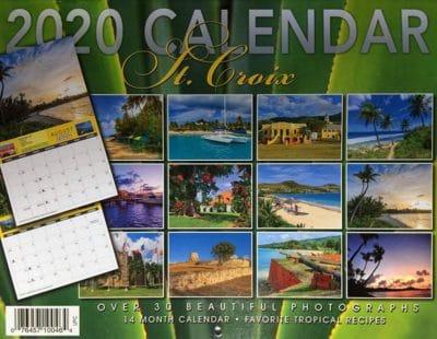 2020 St. Croix Calendar Back