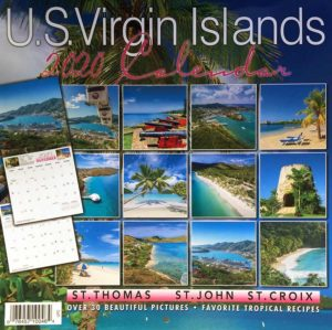 2020 Virgin Islands Wall Calendar