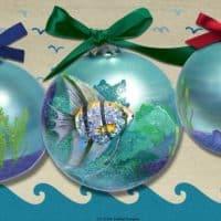 St. Croix Angel Fish Ornament
