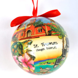 St. Thomas Scenes Ornament