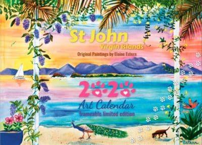 St. John Calendar by Elaine Estern 2020