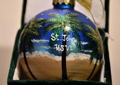Royal Night St. John Christmas Ornament