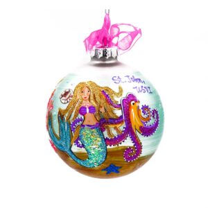 St. John Mermaid Under the Sea Christmas Ornament