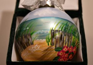 St. Croix Beach Front Christmas Ornament
