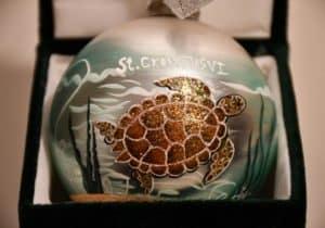 St. Croix Turtle Ornament
