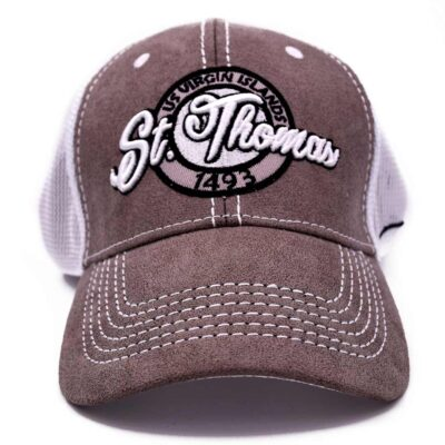 St. Thomas Grey/Mesh Hat