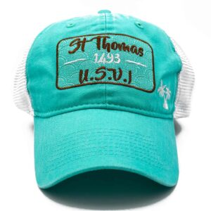 St. Thomas Mesh Hat (Mint/White)