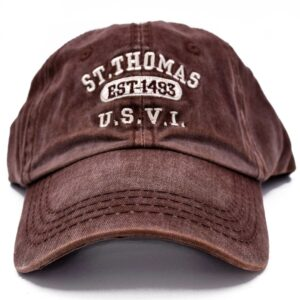St. Thomas Est 1493 Hat (Brown)
