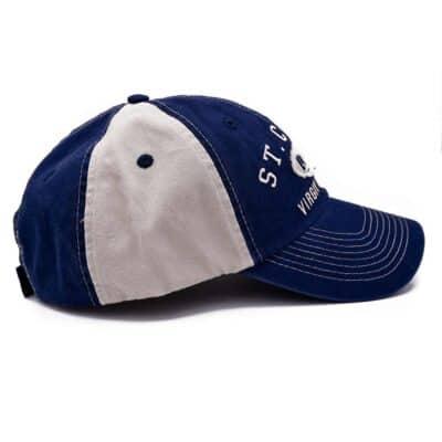 St. Croix Navy/Beige Hat