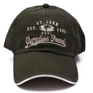 St. John Paradise Found Hat (Olive Green)